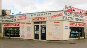 magasin de pièces détachées Saint Quentin